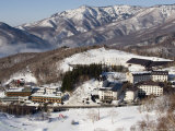 Shigakogan Ski Resort Photographic Print by John Borthwick