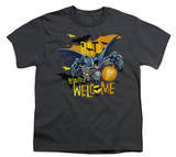 Youth: Batman - Bats Welcome T-shirts