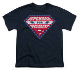 Youth: Superman - Superman for Preseident Shield T-shirts