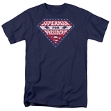 Superman - Superman for Preseident Shield T-shirts