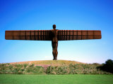 Giant Steel Structure of &#39;the Angel of the North Photographic Print by David Else