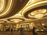 Reception Area of Bellagio Hotel and Casino Photographic Print by Bruce Bi