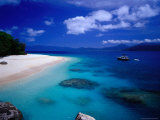 Nudey Beach, Fitzroy Island National Park Photographic Print by Richard I'Anson