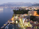 Sorrento at Dusk Photographic Print by Greg Elms