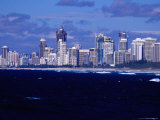 Surfers Paradise Skyline Photographic Print by Russell Mountford