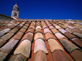 Tiled Roof and Tower, Old Town Photographic Print by John Borthwick