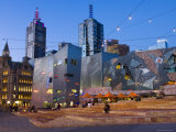Federation Square at Dusk Photographic Print by Greg Elms