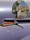 Reflection on Side Mirror of Old Morris Car Photographie par Mark Avellino