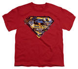 Youth: Superman - American Way T-shirts