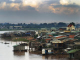 Tonle Sap River, Near Vietnamese Border Photographic Print by John Sones
