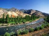 Coruh Valley and River Fotografisk tryk af Izzet Keribar