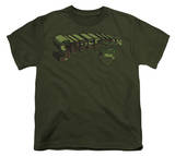 Youth: Superman - Camo Logo & Shield T-shirts