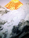 Mt Everest at Sunset Photographic Print by Rocco Fasano