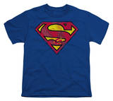 Youth: Superman - Action S-Shield Shirts