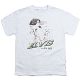 Youth: Elvis - Elvis is a Verb Shirts