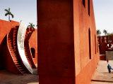 Jantar Mantar Observatory Fotografisk tryk af Michael Gebicki