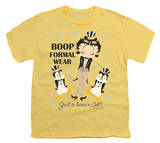 Youth: Betty Boop - Dressed to Chill T-Shirt
