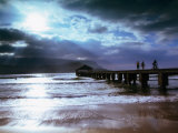 Hanalei Bay Pier Photographic Print by Linda Ching