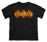 Youth: Batman - Fiery Shield T-shirts