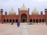Badshahi Mosque, One of the Largest in the World Photographic Print by Austin Bush