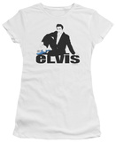 Juniors: Elvis - Blue Suede T-Shirt