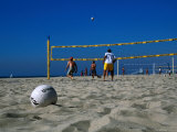 Beach Volleyball Game Photographic Print by Christina Lease