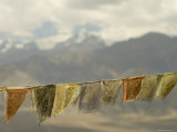 Prayer Flags and Namgyal Peak Photographic Print by Guylain Doyle