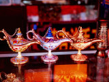 Aladdin Lamps for Sale, Khaskan Bazaar Photographic Print by Lindsay Brown