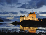 Eilean Donan at Dusk Photographic Print by Izzet Keribar