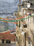 Homes and Restaurants on a Steep Walkway Photographic Print by Christopher Herwig
