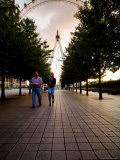 London Eye at Sunset Photographic Print by Orien Harvey