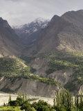 Mountain Scene in the Hindu Kush, Kashmir Fotografisk trykk av Gavin Quirke