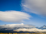 Sandia Mountains Which Form the Eastern Boundary of Albuquerque Fotografie-Druck von Ray Laskowitz