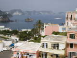 Houses Overlooking Ponza Bay Photographic Print by Holger Leue