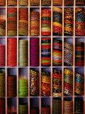 Bangle Shop at Tripolia Bazaar Photographic Print by Richard I&#39;Anson