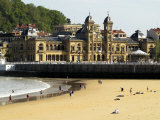 Old Casino on Bahia La Concha, Donostia - San Sebastian Photographic Print by Philip Game