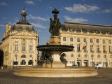 Place De La Bourse Photographic Print by Russell Mountford