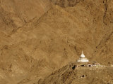 Shanti Stupa Photographic Print by Guylain Doyle