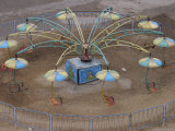 Amusement Park Ride Photographic Print by Christopher Herwig
