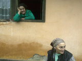 Women from a Small Village, Transylvania Photographic Print by Gavin Quirke