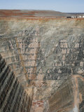 Overhead of Sons of Gwalia Mine Near Leonora Photographic Print by Orien Harvey