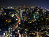 Tokyo at Night Photographic Print by Merten Snijders