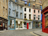 Edinburgh Grassmarket Photographic Print by Izzet Keribar