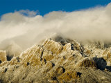 Tops of the Sandia Mountains Which Form the Eastern Boundary of Albuquerque Photographic Print by Ray Laskowitz