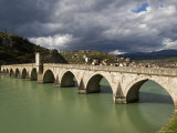 Mehmed Pasa Sokolovic Bridge over the Drina River Photographic Print by Patrick Horton