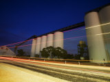 Wheat Silos Photographic Print by Orien Harvey