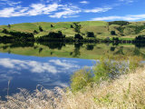 Beautiful Reflection of the Catlins Countryside Photographic Print by Uros Ravbar