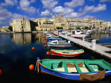 City and Harbour from Vittoriosa Photographic Print by John Elk III