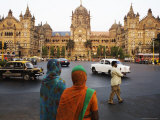Cst Station, Better known as Victoria Terminus Photographic Print by Orien Harvey