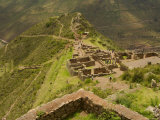 Stone Ruins at Pisac National Park,Sacred Valley of the Incas Photographic Print by Ralph Lee Hopkins